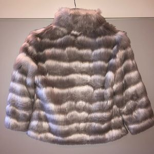 Tahari Jackets & Coats - TAHARI Faux Fur Coat